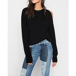 7 for all mankind split sleeve sweater